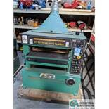 """24"""" GRIZZLY MODEL 24"""" EXTREME DUTY PLANER; SPIRAL CUTTER HEAD, 10-HP CUTTER HEAD, 20 - 40 FPM ("""