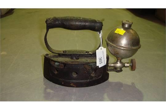 Vintage methylated spirit iron