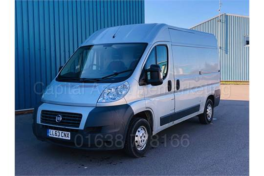 FIAT DUCATO 33 MULTIJET MWB **On Sale** 27 11 2013 '63 REG' LCV