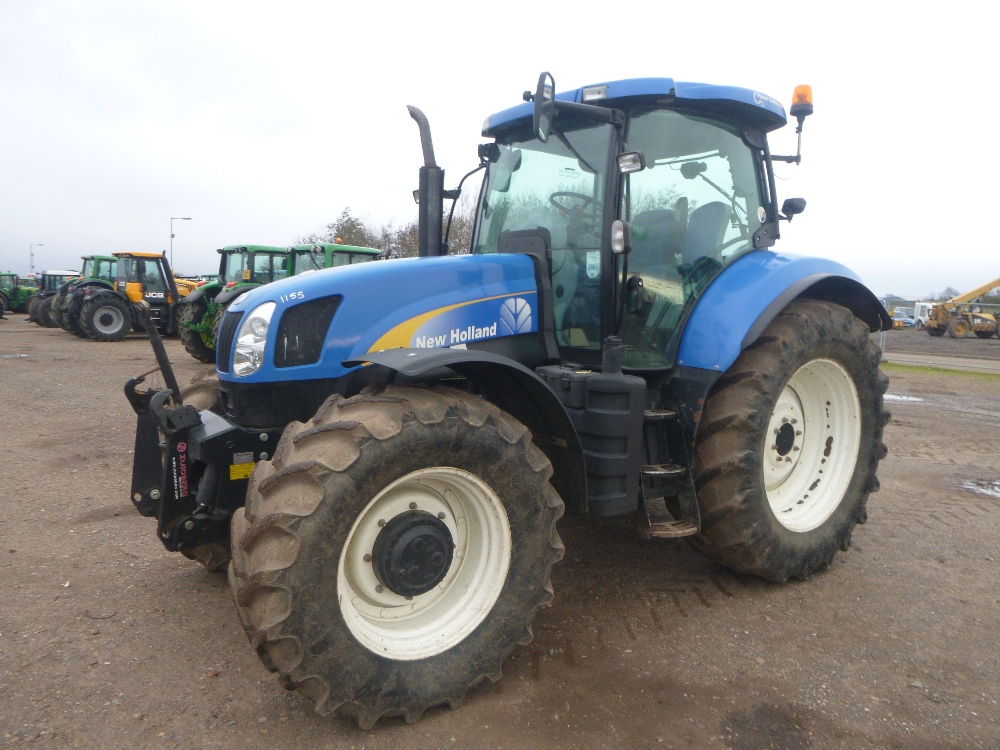 Tractor Front Suspension : New holland t k tractor with cab axle suspension
