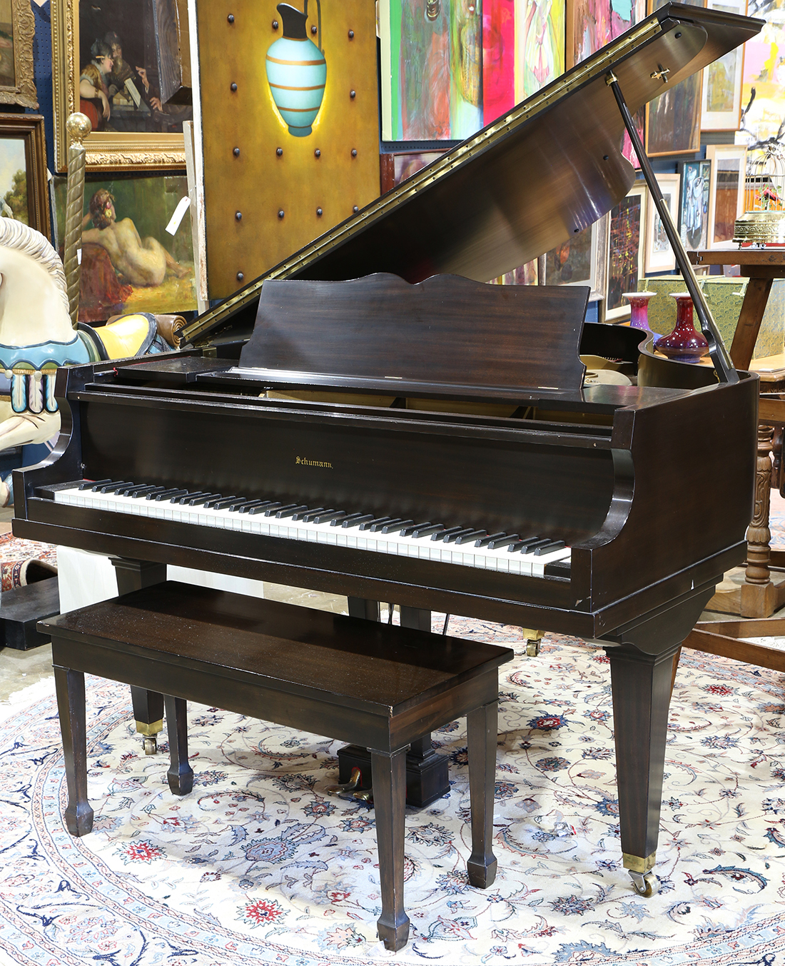 Schumann Baby Grand Piano Serial Number 51034 Together