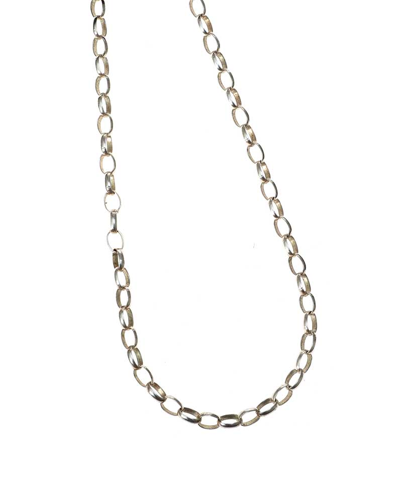 Lot 58 - STERLING SILVER CHAIN