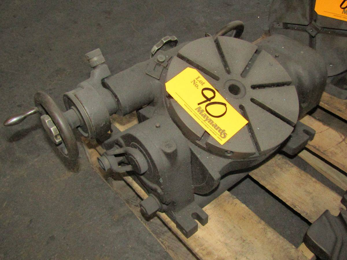 """Lot 90 - SIP 9"""" Tilting Rotary Table"""
