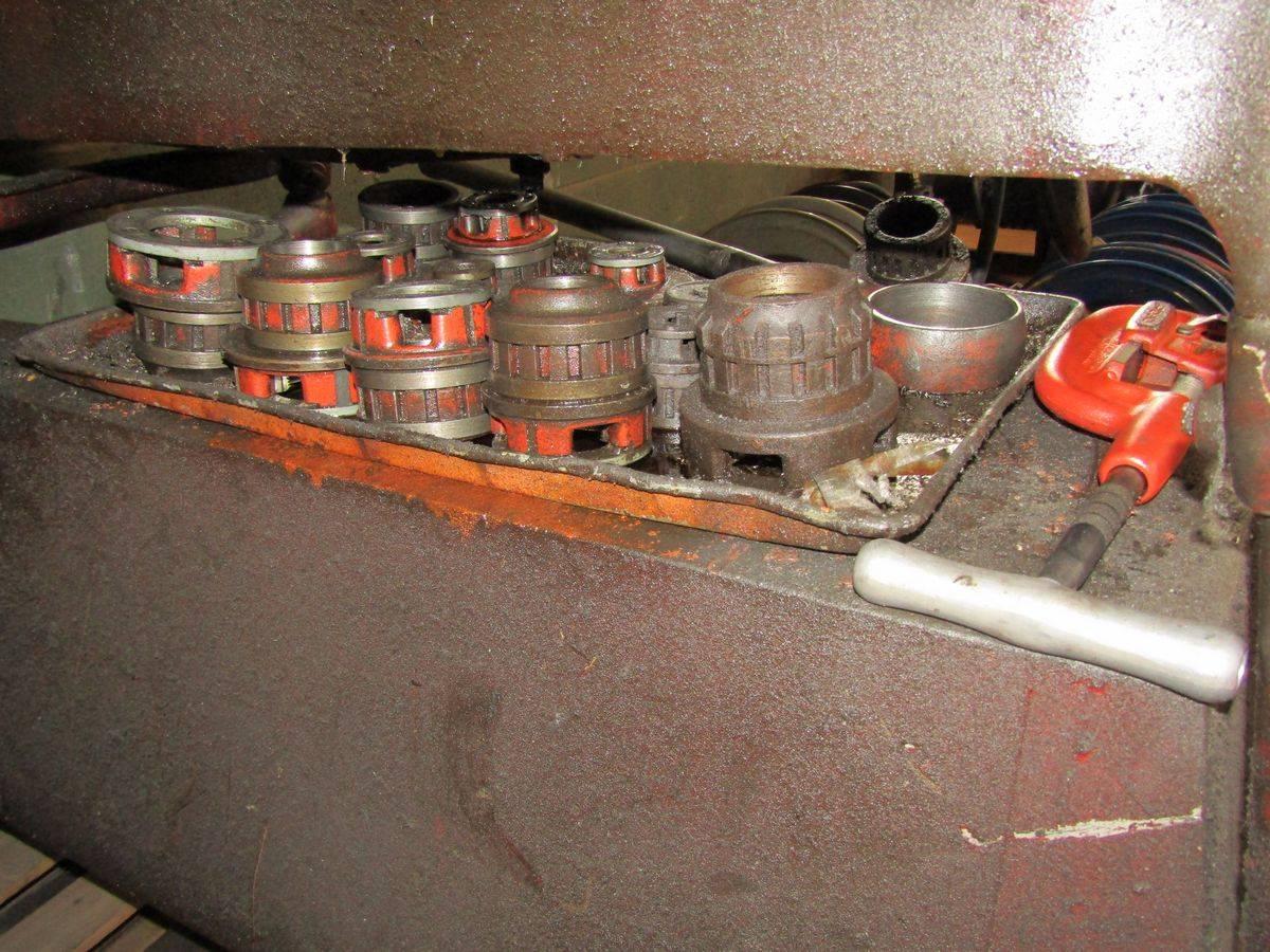 Ridgid 535 Pipe Threading Machine - Image 3 of 3