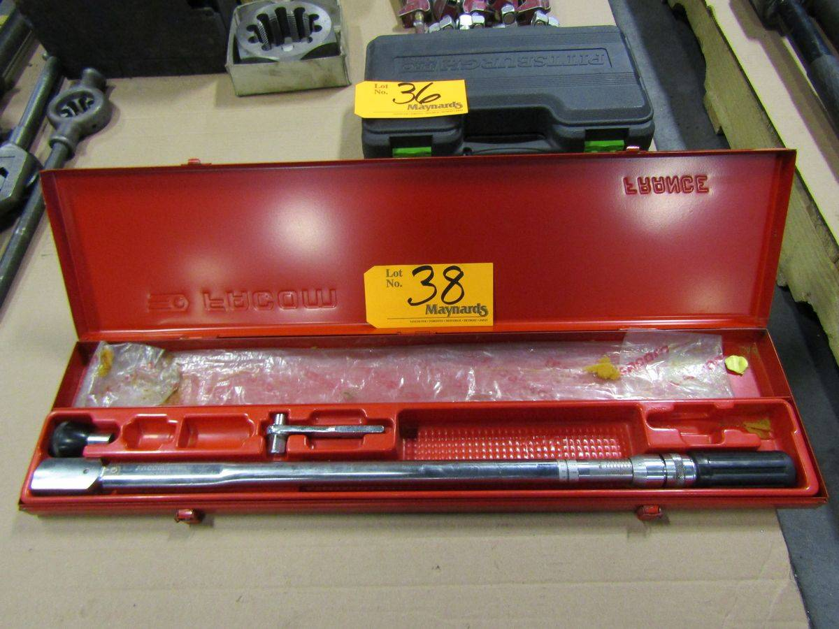 Lot 38 - Facom S323D Clicker Type Torque Wrench
