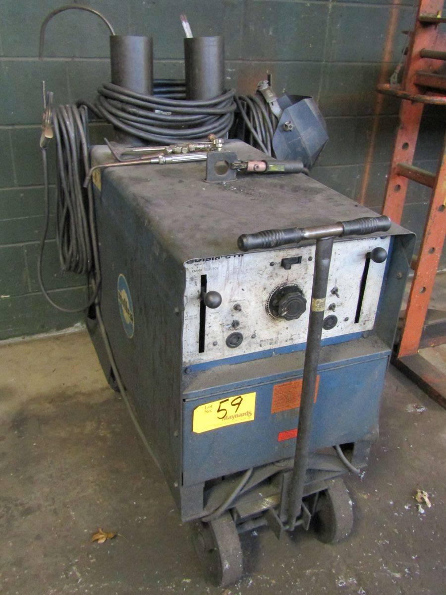 Lot 59 - Miller Dialarc HF AC/DC Gas Tungsten-Arc/Shielded Metal Arc Welding Power Source