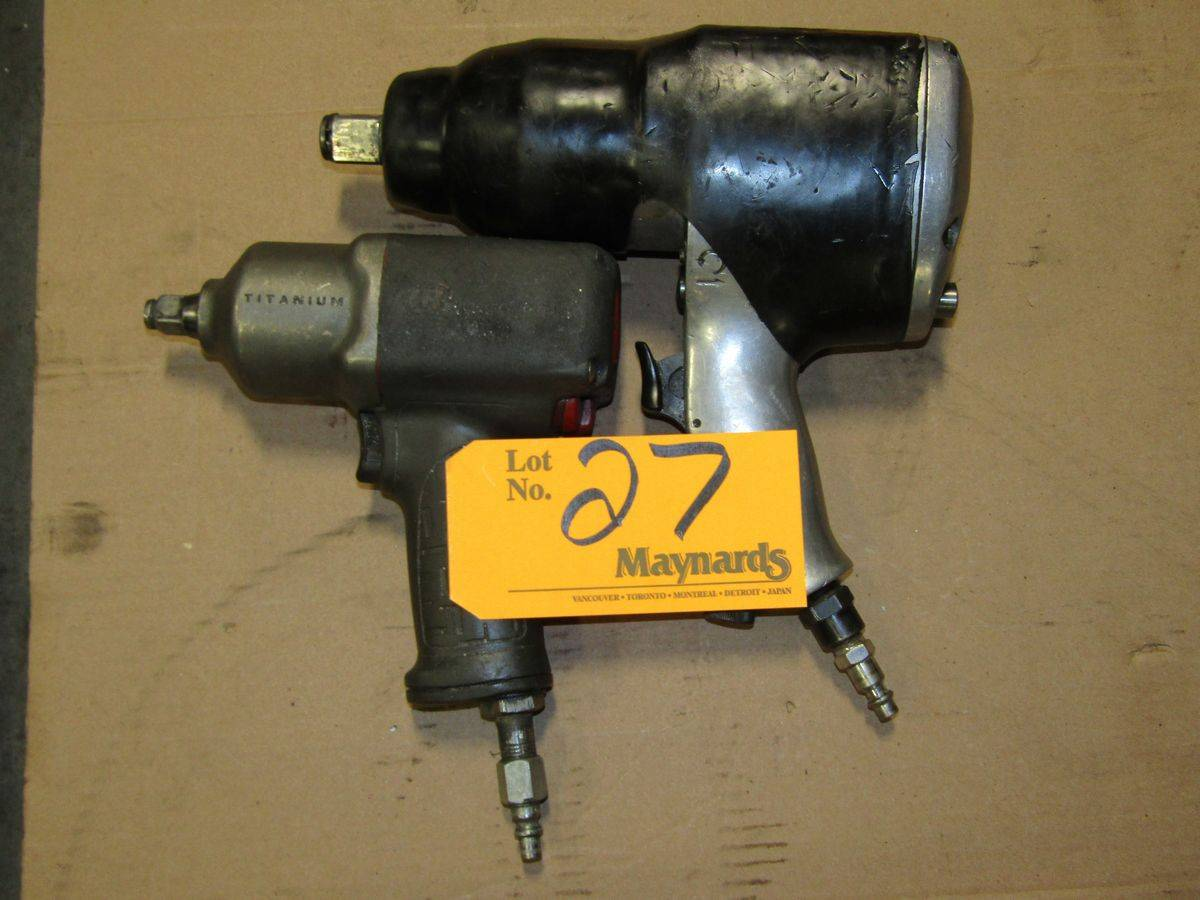 Lot 27 - Pneumatic Impact Wrenches
