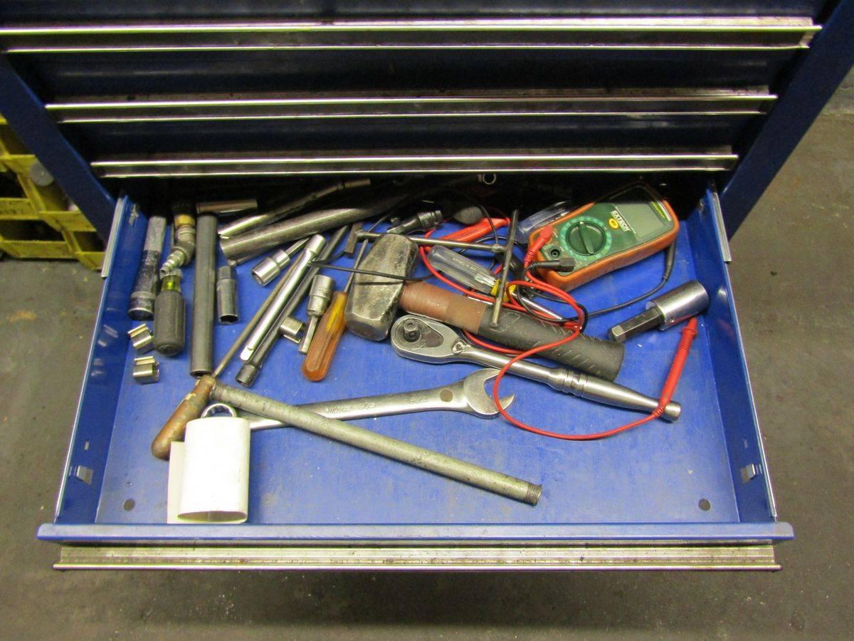 Lot 46 - Homak 6-Drawer Rolling Tool Box