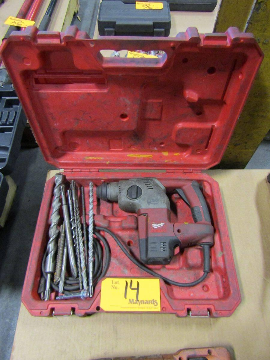 """Milwaukee 5363-21 1"""" Rotary Hammer Drill"""