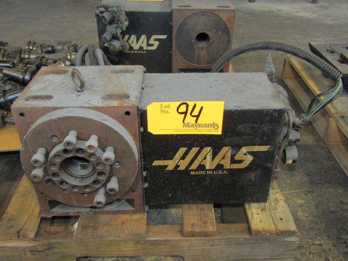Lot 94 - Haas 4th-Axis Indexer
