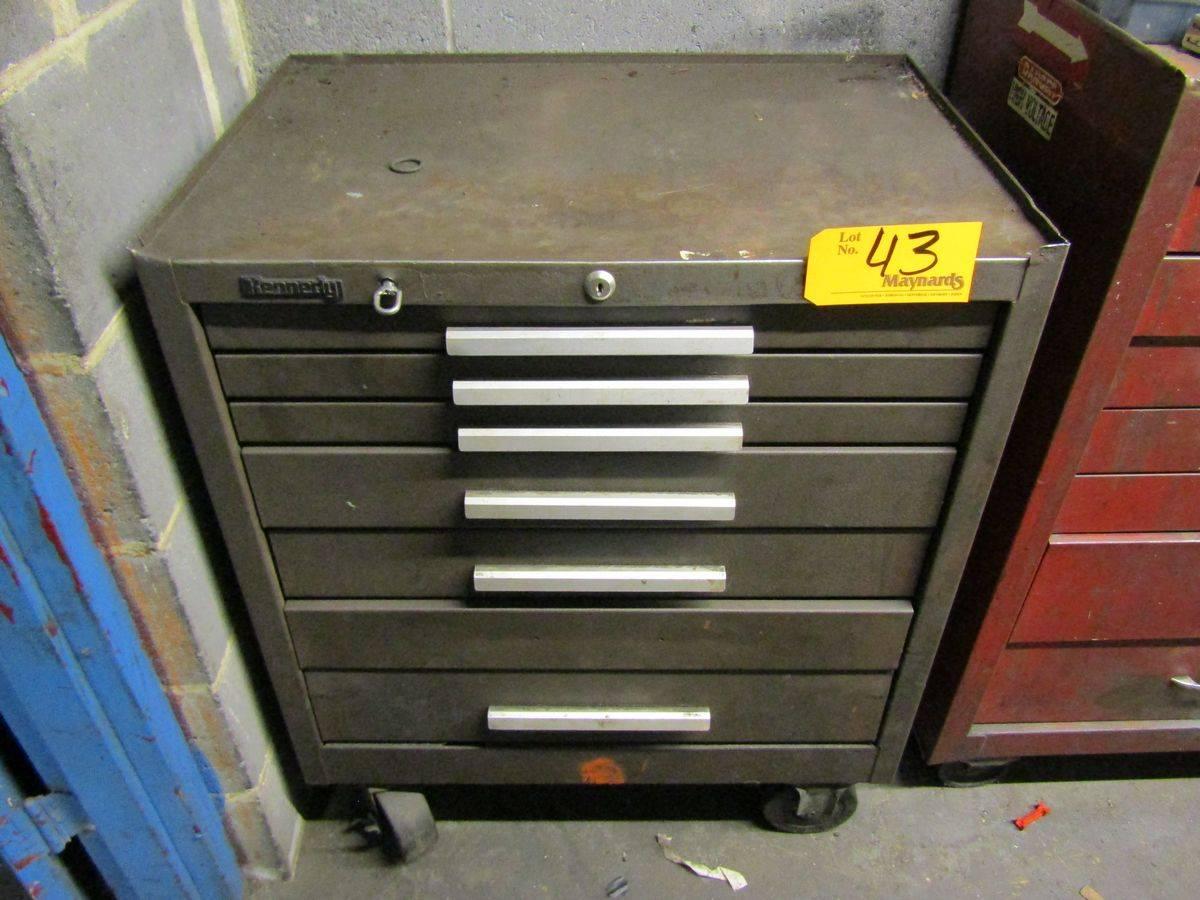 Lot 43 - Kennedy 7-Drawer Rolling Tool Box