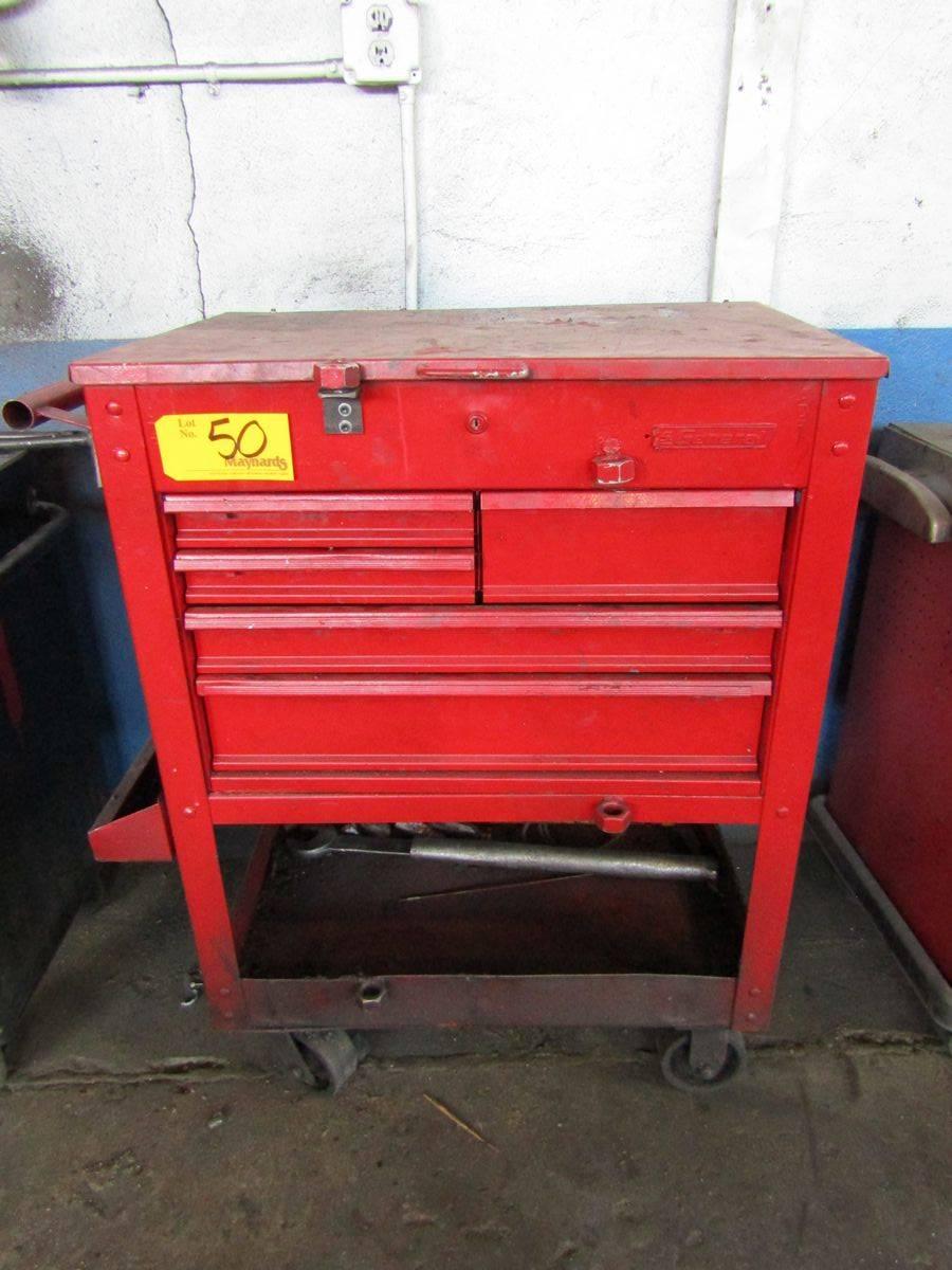 US General 5-Drawer Rolling Tool Box