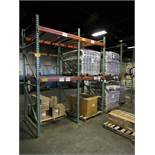 Sections of Pallet Racking