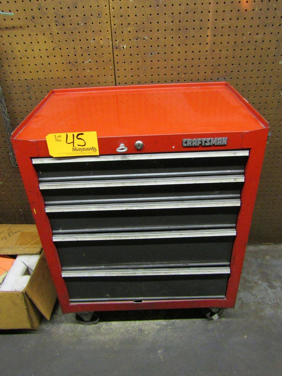 Craftsman 5-Drawer Rolling Tool Box