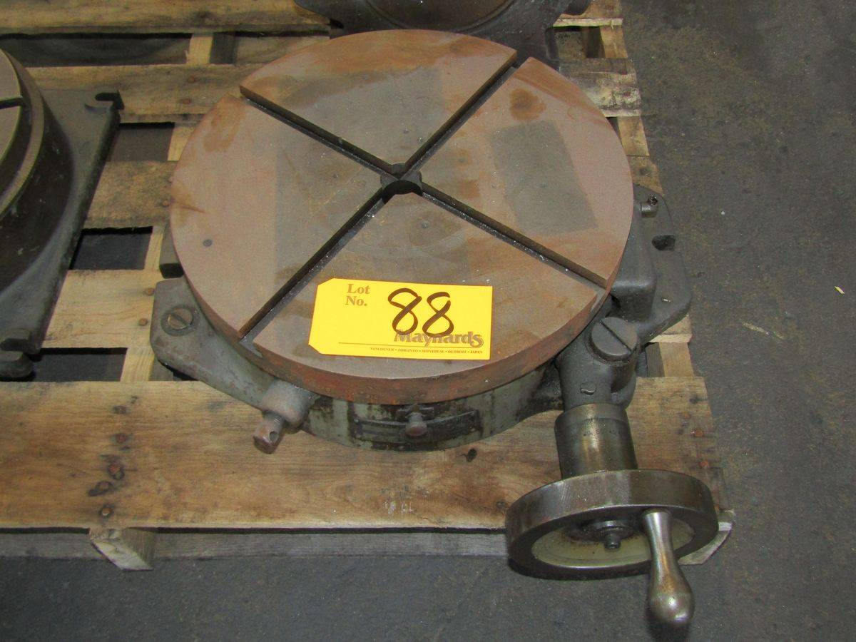 "Lot 88 - Troyke BH-15 15"" Rotary Table"