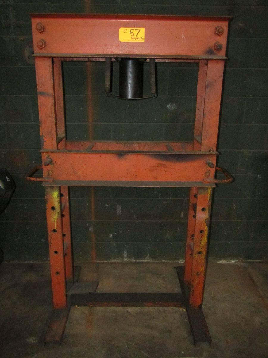 40-Ton H-Frame Shop Press