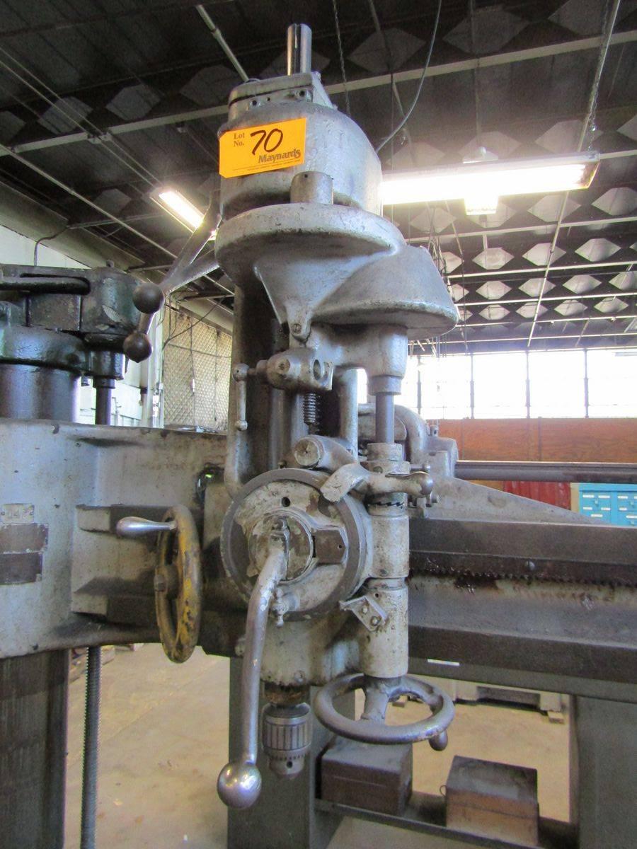 Lot 70 - Cincinnati Bickford Radial Arm Drill