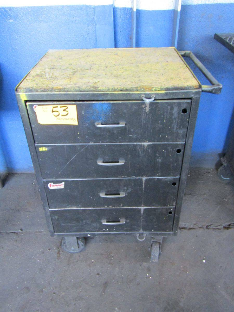 4-Drawer Rolling Tool Box