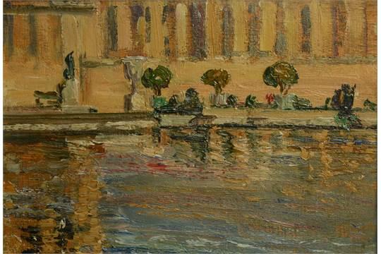 BIDDY MACDONALD JAMIESON (d.1939), Versailles, the water parterres ...