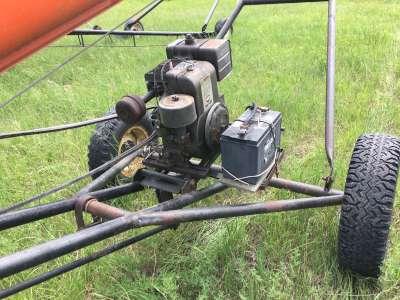 Lot 13 - Brandt 7x36 auger w/motor