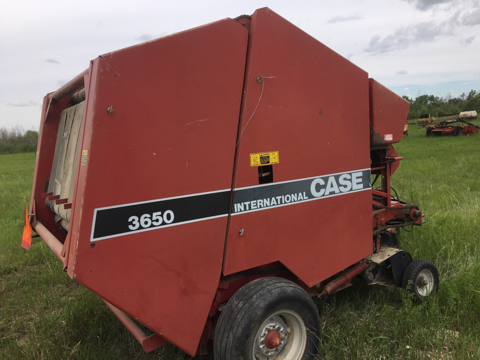 Lot 47 - Case IH 3650 Round Baler