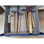 Various Size Hammers x6