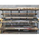 Steel Racking with Various Metal Sheeting