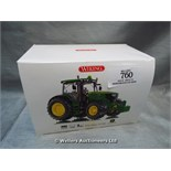 *WIKING JOHN DEERE 6210R DIE CAST MODEL / GRADE: UNCLAIMED PROPERTY / BOXED (DC2)[MK070515-1760}