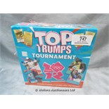 *TOP TRUMPS TOURNAMENT 2012 BOARD GAME / GRADE: NEW / SEALED (DC2)[MK070515-1747}