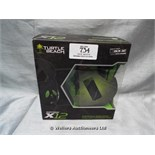 *TURTLE BEACH X12 HEADSET FOR XBOX 360 / GRADE: UNCLAIMED PROPERTY / BOXED (DC2)[MK070515-1734}