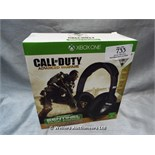 *TURTLE BEACH XBOX ONE COD ADVANCED WAREFARE SENTINEL TASK FORCE HEADSET / GRADE: UNCLAIMED PROPERTY