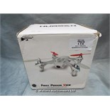*HUBSAN FIRST PERSON VIEW FPV MINI QUADCOPTER / GRADE: UNCLAIMED PROPERTY / BOXED (DC2)[MK070515-
