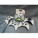 *X5 CONTROLLERS FOR XBOX 360 / GRADE: UNCLAIMED PROPERTY / UNBOXED (DC2)[MK070515-1739}