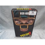 *MEDICOM TOY KICK ASS 2 KICK ASS FIGURINE / GRADE: UNCLAIMED PROPERTY / BOXED (DC2)[MK070515-1714}