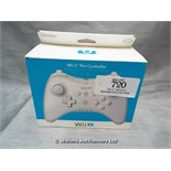 *WII U PRO CONTROLLER / GRADE: UNCLAIMED PROPERTY / BOXED (DC2)[MK070515-1720}