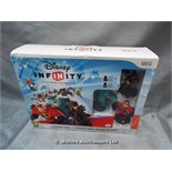 *DISNEY INFINITY STARTER PACK FOR WII / GRADE: UNCLAIMED PROPERTY / BOXED (DC2)[MK070515-1753}