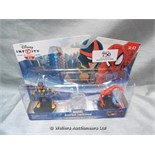 *DISNEY INFINITY MARVELS ULTIMATE SPIDERMAN FIGURE SET / GRADE: UNCLAIMED PROPERTY / BOXED (DC2)[