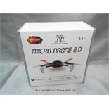 *MICRO DRONE 2.0 / GRADE: UNCLAIMED PROPERTY / BOXED (DC2)[MK070515-1727}