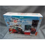 *DISNEY INFINITY STARTER PACK FOR WII U / GRADE: UNCLAIMED PROPERTY / BOXED (DC2)[MK070515-1752}