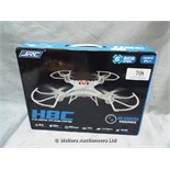 *JRC H8C QUAD COPTER / GRADE: UNCLAIMED PROPERTY / BOXED (DC3)[MK070515-1728}