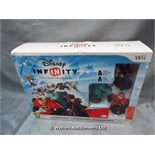 *DISNEY INFINITY STARTER PACK FOR WII / GRADE: UNCLAIMED PROPERTY / BOXED (DC2)[MK070515-1754}