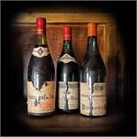 Châteauneuf du Pape and Côte de Nuits-Villages, wine collection, 1966/1974, 3b x 0.75l