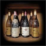 Châteauneuf du Pape, wine selection, 1964/1998/2000, 7b x 0.75l