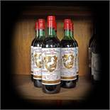 Exceptional wine lot from Bordeaux region, Cheval Blanc, 1975, 7b x 0.75l