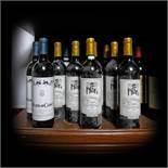 Bordeaux wine selection, 2000/2003, 12b x 0.75l
