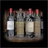 Saint-Émilion and Haut-Médoc wine collection, 1959/1975/1985/1988, 11b x 0.75l