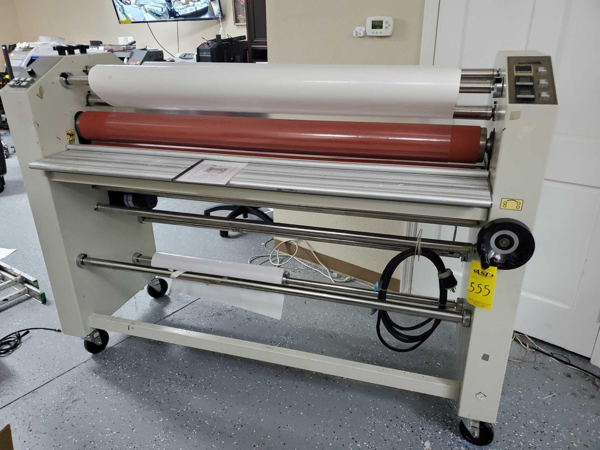 """60"""" HEAT COLD DOUBLE OR SINGLE SIDED LAMINATOR"""