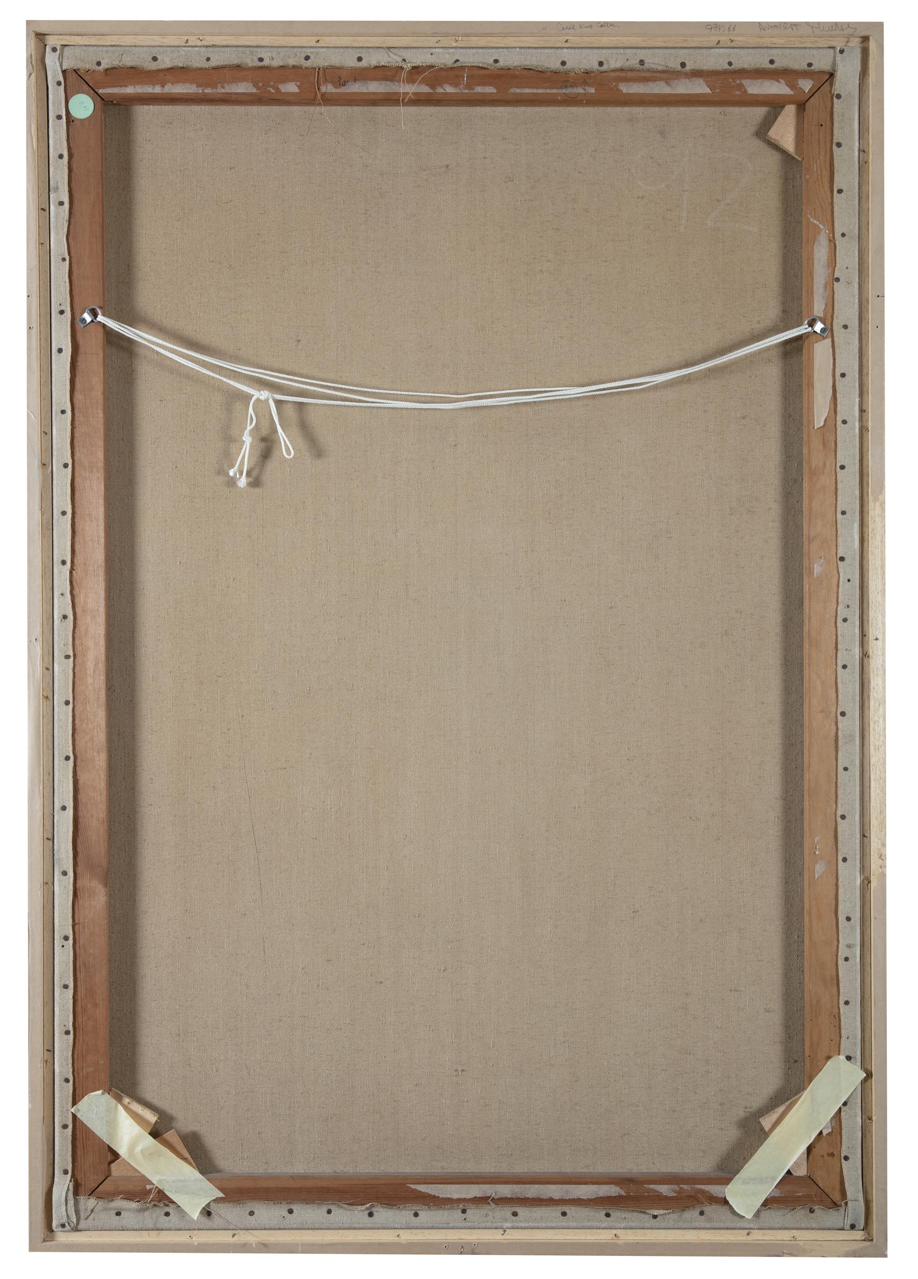 Lot 88 - Patrick Scott HRHA (1921-2014)Bog Cotton (1962)Tempera on linen, 122 x 83cm (48 x 32½)Inscribed '
