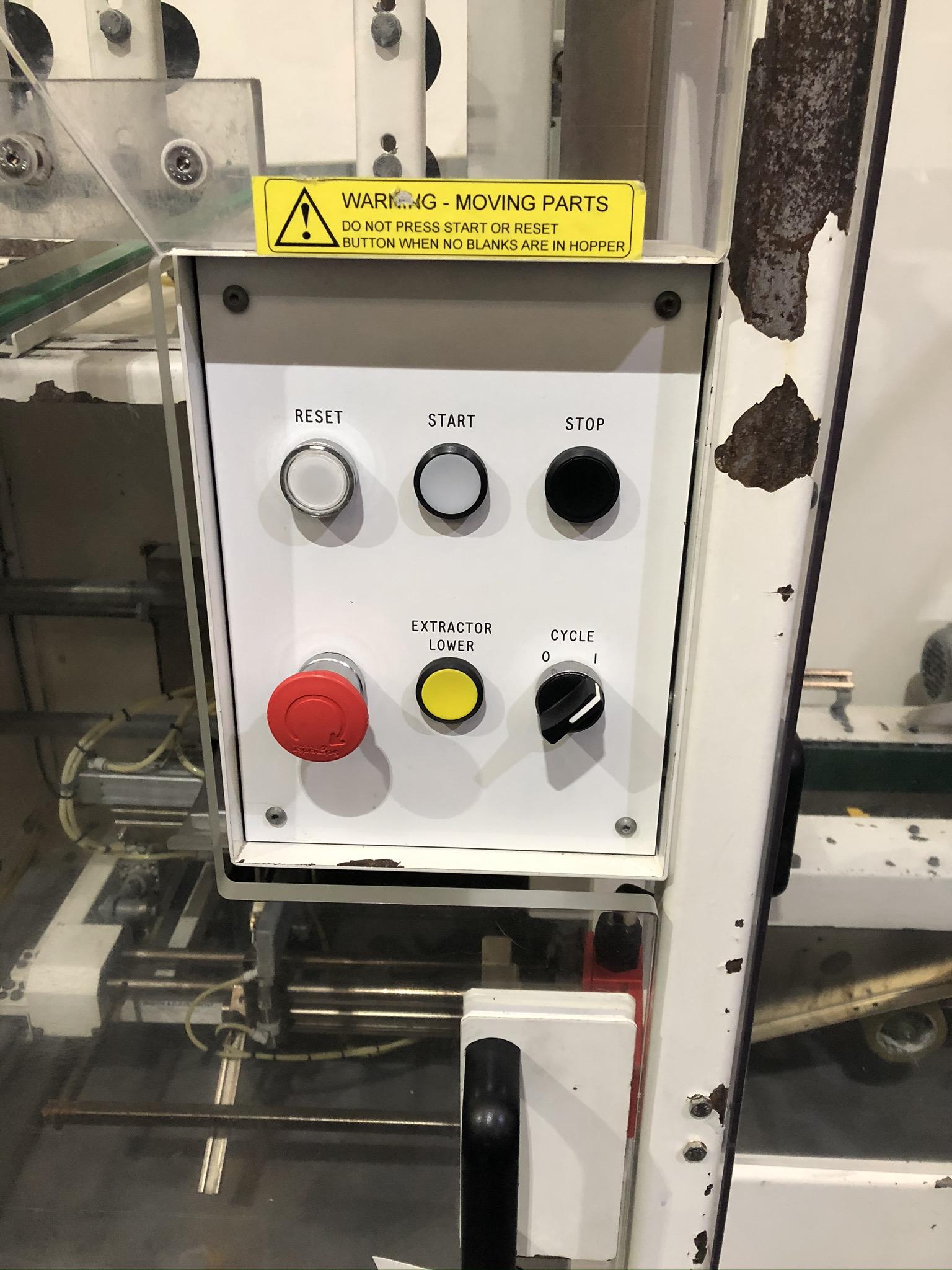 Lot 53 - Endoline 221 Box Taper/ Erector, plant no. 53, dim