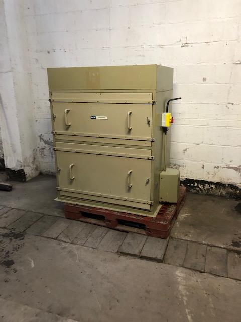Lot 38 - DCE Unimaster Dust Filter Unit, loading free of ch
